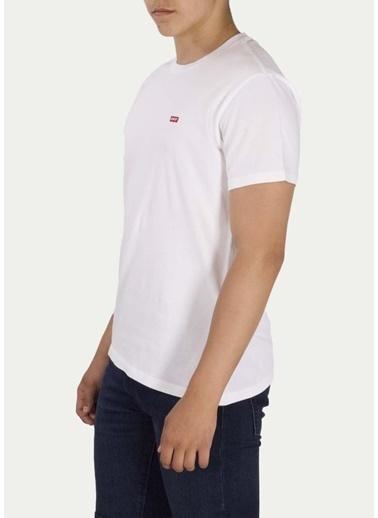 Levi's® Erkek Tişört Original Housemark 56605-0077 Beyaz